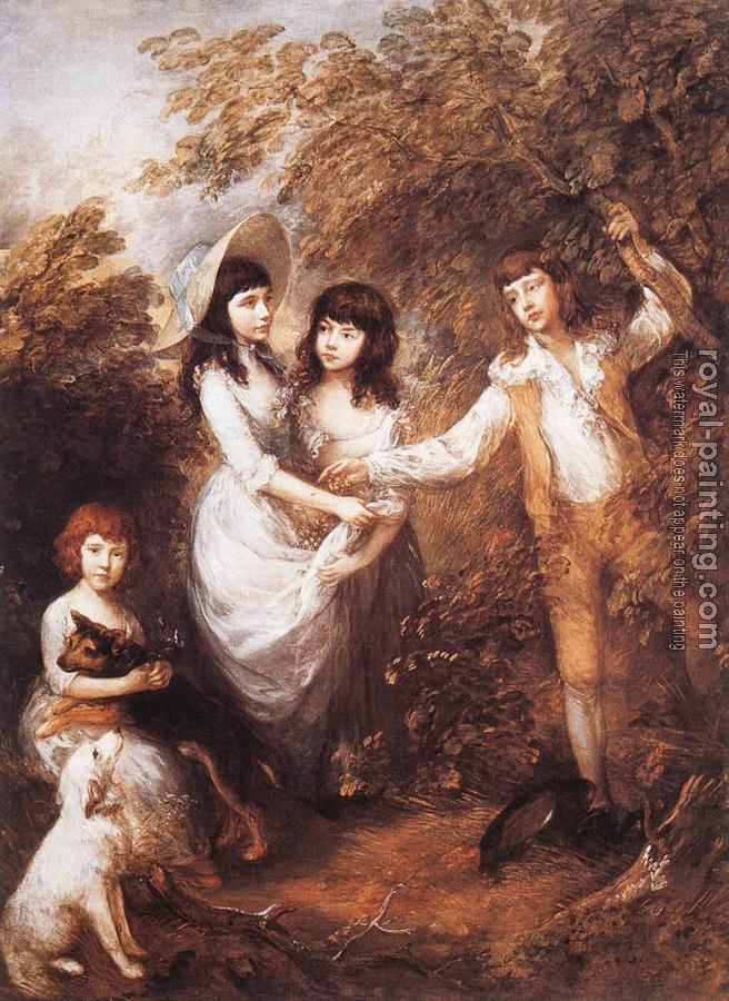 Thomas Gainsborough : The Marsham Children